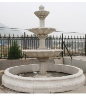 Big Outdoor Tiered Pool Water Fountains