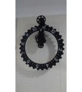 Antique Black Frame Clock