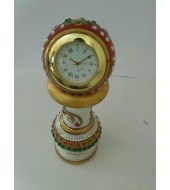Stand Marble Clock
