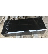 Designer Black Granite Ledger Long Base