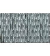 Gray Smooth Texture Natural Slate Wall Mosaic