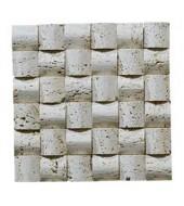 Horizontally And Vertically Creating A Graceful Wall Mosaic