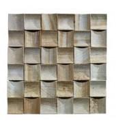 Light Sandalwood Coloured Natural Stone Mosaic