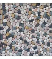 Multicolour Pebble Mosaic