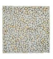 Mint Shards Of Natural Stone Mosaic