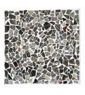 Multicoloured Shards Of Natural Stone Mosaic