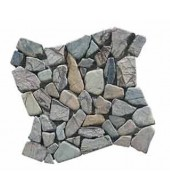 Grey And White Natural Marble Mosaic