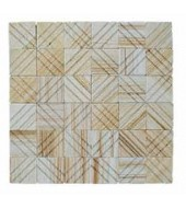 Mint Square Pattern Natural Stone Mosaic