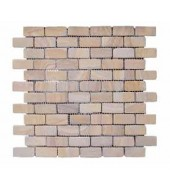 Brick Pattern Natural Stone Mosaic