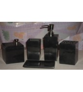Granite Bathroom Accessory Set