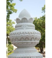 Hand Carved Marble Architectural Finials