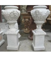 Hand Carved Marble Finials