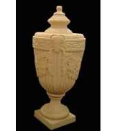 Hand Carved Sandstone Decorative Finials