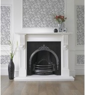Antique Marble Chimney