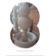 Antique Yellow Sandstone Fountain