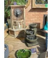 Bidaser Green Hand Carved Fountain