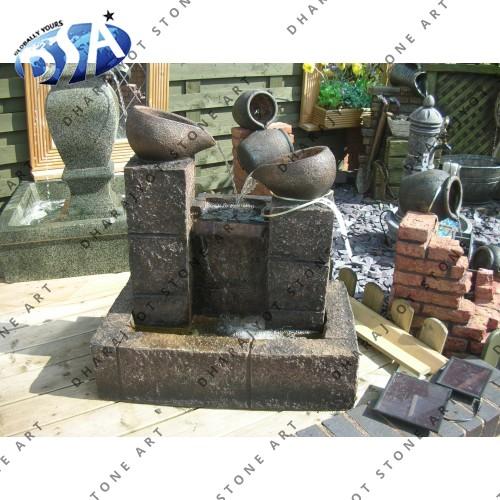 Europian Marble Carved Fountains For Garden