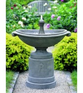 Grey Outdoor Fountain