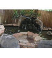 Mount Marble Carved American Fountain