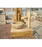 Yellow Stone Bamboo Design Fountains