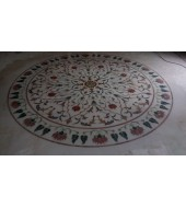 Big Round Lapis Inlay Flooring