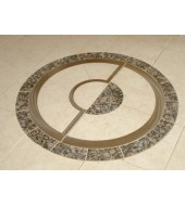 Antique Round Inlay