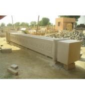 Antique Design Sandstone Pillar