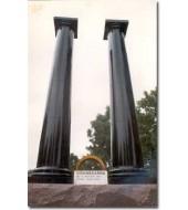 Black Marble Big Pillar