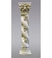 White Sandstone Antique Pillar
