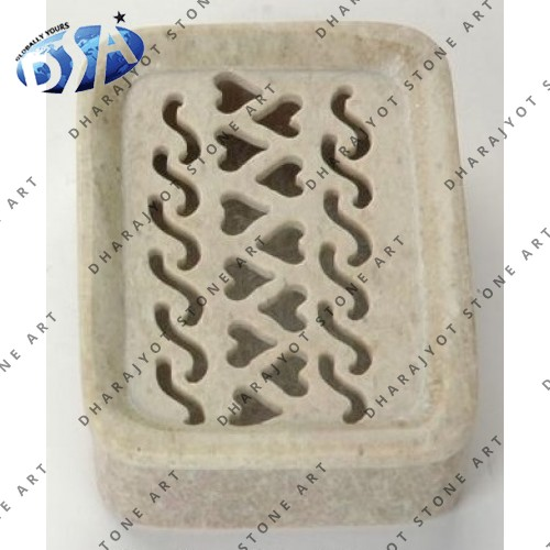 Carved Soap Stone Unique Soap Dish