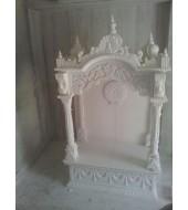 Antique White Marble Modern Mandir