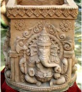 Ganesh Statue Sandstone Tulsikyara