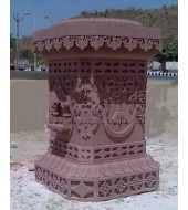 Chocolate Sandstone Antique Tulsikyara