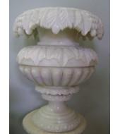 Carved Modern Marble Flower Vase
