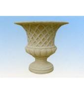Decorative Sandstone Flower Vase