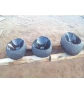 Black Marble Oval Base Washbasin