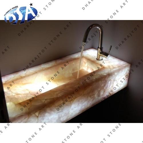 Curdy Quartz Washbasin