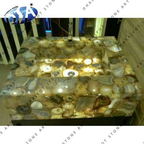 Natural Yellow Crystal  Quartz Washbasin
