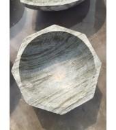 Green Marble Polished Washbasin Sink