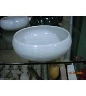 Round Marble Wash Basin