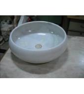 Round Marble Washbasin