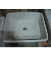 Square Marble Wash Basin