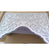 White Marble Designed Arch