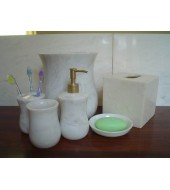Marble Bathroom Collection Toothbrush Holder