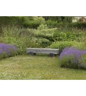 Grey Granite Bench For Garden