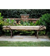 Yellow Sandstone Bench For Garden Seating