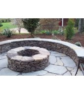 Natural Stone Garden Benches