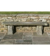 Grey Stone Bench For Outdoor Seating