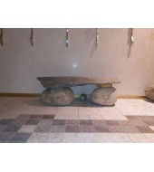 Indoor Seating Stone Bench