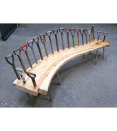 Yellow Stone Outdoor Bench